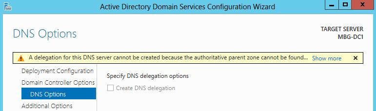 DNS možnosti